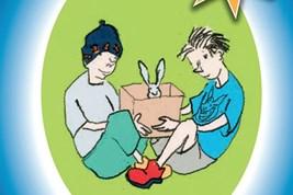 Bilete viser omslaget til boka Kaninar og Kaninar av Arnt Birkedal