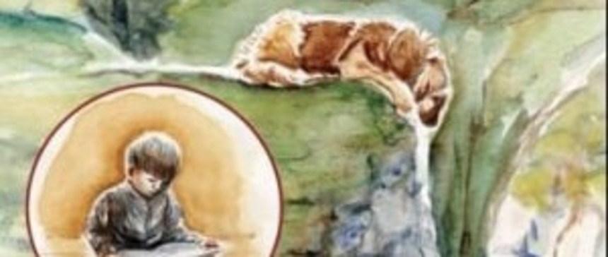 Bilete viser omslaget til boka Berre ein hund av Per Sivle.
