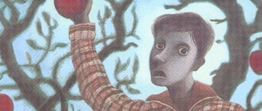 Bilete viser omslaget til boka Heksa av Atle Hansen.