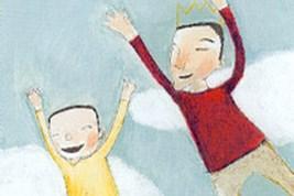 Bilete viser omslaget til boka Ligge på vinden av Erna Osland.