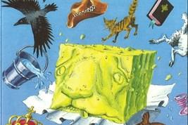 Bilete viser omslaget til boka Onkel Oskars saueost av Torvald Sund.
