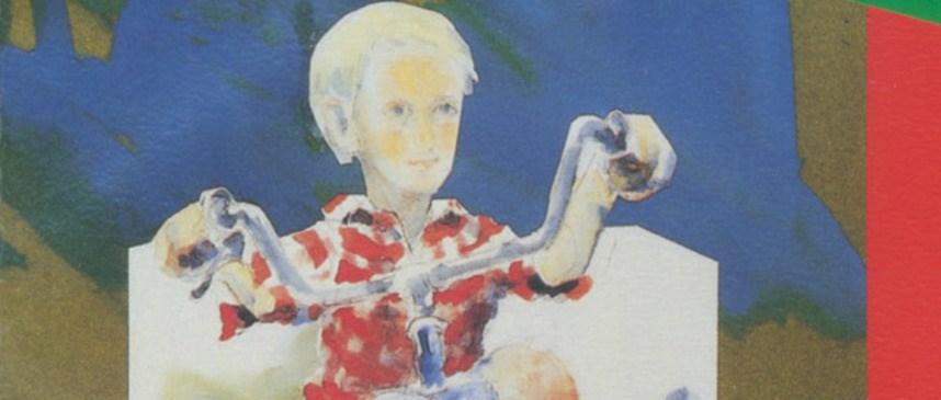 Bilete viser omslaget til boka Denne guten har brune kne av Eva Jensen.