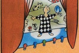 Bilete viser omslaget til boka Heia oldemor av Ingvar Moe.